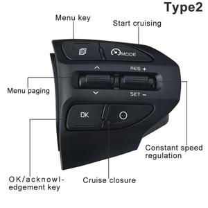 Image 4 - ESPEEDER Car Steering Wheel Button Bluetooth Phone Cruise Control Volume For KIA K2 RIO 2017 2018 RIO X LINE Car Accessories
