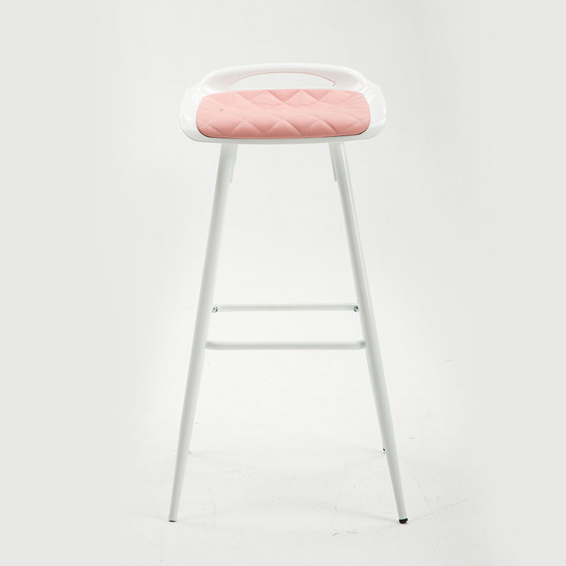 Bar Chair High Stool Fashion Chair Comfort Cushion Modern Minimalist Style Multiple Choices Comfort Cushion