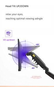 """Image 3 - 2019 NEW NB F80 Desktop17 27"""" LCD LED Monitor Holder Arm Gas Spring Full Motion Gas Strut Flexi TV Mount Loading 2 9kgs"""
