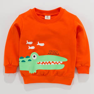 T-Shirt Tops Long-Sleeve Baby-Girl Cartoon Toddler New Kid Printed Boy