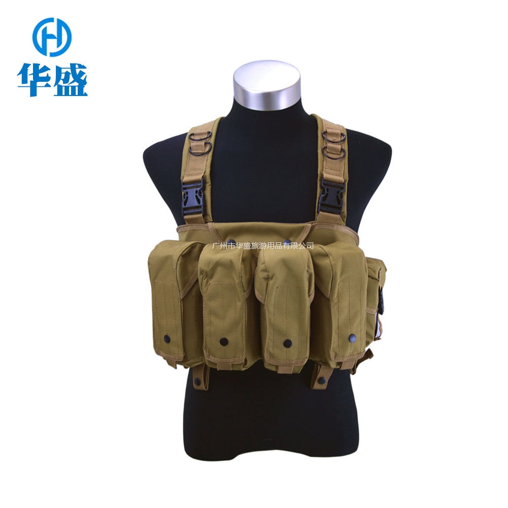 Manufacturers Wholesale Outdoor Combat AK Apron Tactical Vest Open Country Multi-functional Outdoor Training Lightweight Counter