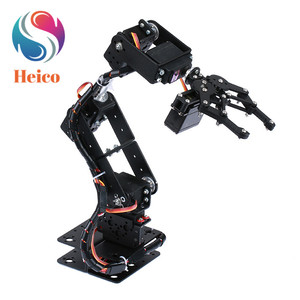6DOF Robot Arm Metal Manipulator Mechanical Clamp Claw With MG996R Remote Control for Arduino DIY RC Model Teaching Platform