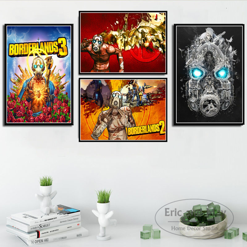 New Borderland 3 Video Game Posters And Prints Canvas Painting Pictures On The Wall Vintage Poster Decorative Home Decor Cuadros image