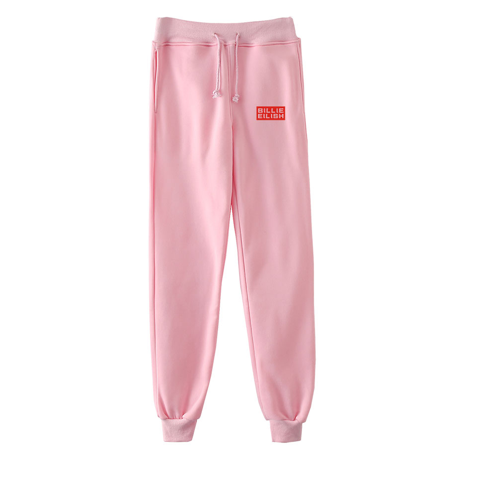 Casual Billie Eilish Popular Trousers Men And Women Fashion Autumn And Winter New Boys And Girls Comfortable Sweatpants