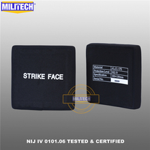 Side-Plates Aluminum-Oxide Bulletproof Two-Pieces MILITECH Alone Esapi-Panel Nij Iv Ballistic