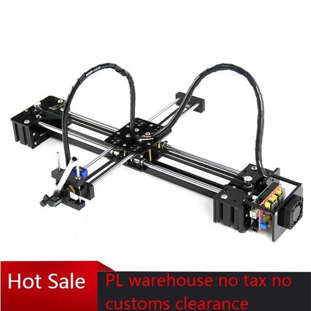 Diy ly drawbot caneta desenho figura pet máquina de escrever robô rotulação corexy xy plotter robô para cnc v3 escudo desenho brinquedos