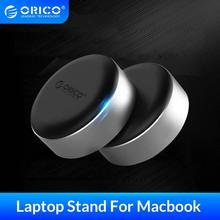 ORICO Aluminum Laptop Stand Portable laptop Cooling Pad Small Invisible Cooler Footpad Notebook Stand with 3 Port USB 3.0 HUB