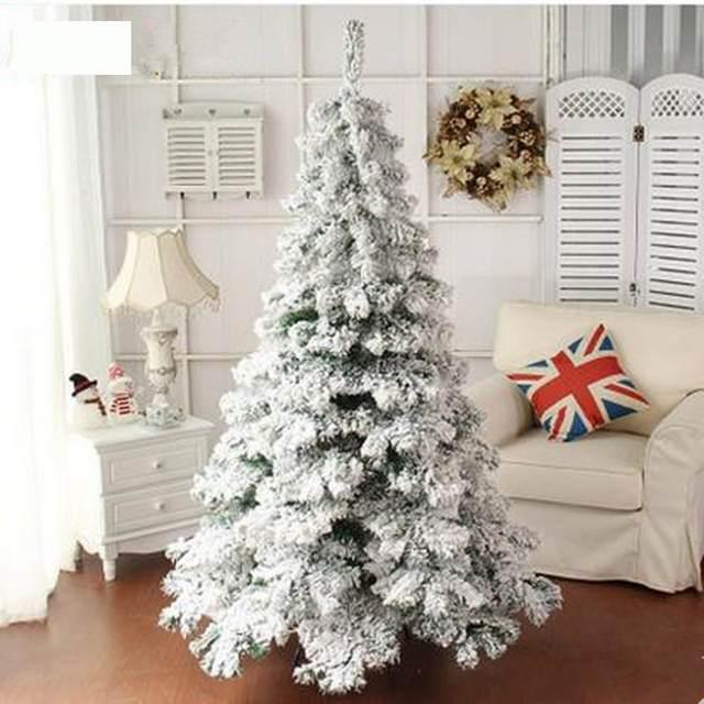 1-8m-180cm-2-1m-210cm-Christmas-Tree-Snow-White-big-Christmas-Tree-Large-Size-Navidad (1)