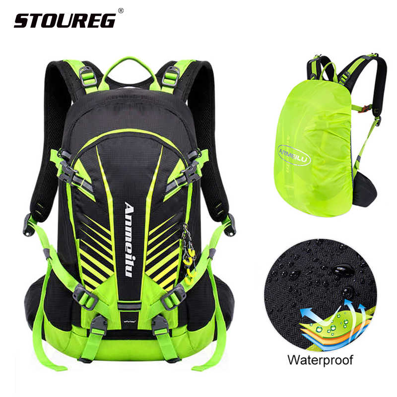 Waterproof Bicycle backpack, 20L MTB Bike Backpack Outdoor backpack for men,Cycling  Hydration rucksack rain cover backpack|Bicycle Bags & Panniers| - AliExpress