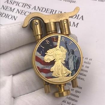 Commemorative Collection Handmade Trench Kerosene Lighter11