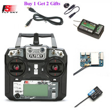 FLYSKY FS-i6X I6X 10CH 2.4GHz AFHDS 2A RC Transmitter with X6B IA6B A8S Receiver for RC Aairplane Helicopter FPV Racing Drones