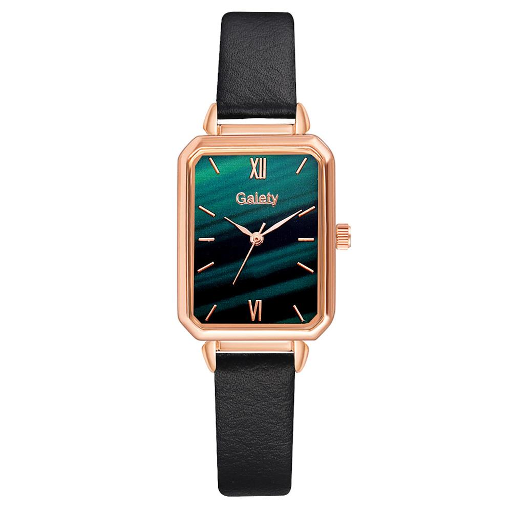 1pc Leather Watch