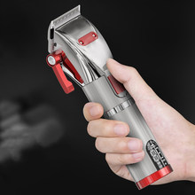 2021 New Professional Hair Clipper Cordless Powerful Haircut Trimmer Top Quality Barber Hair Cutting Machine Grooming Instrument
