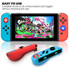 Silicone Joycon Cover for Nintend Switch Antislip Rubber Skin Case Protective Thumb Grip Caps for Nintendo Switch Controller flash sale