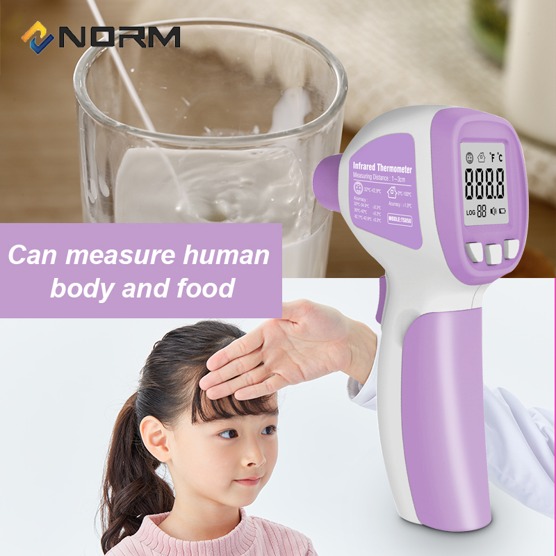 Image 3 - NORM Non Contact Industrial Digital Infrared ThermometerTemperature Instruments