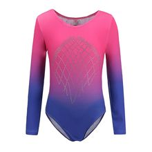 Long sleeve Ballet Dancewear Gymnastics Leotard Girls Kids Ballet Dance suit Practice Ballet clothes 5-12 year
