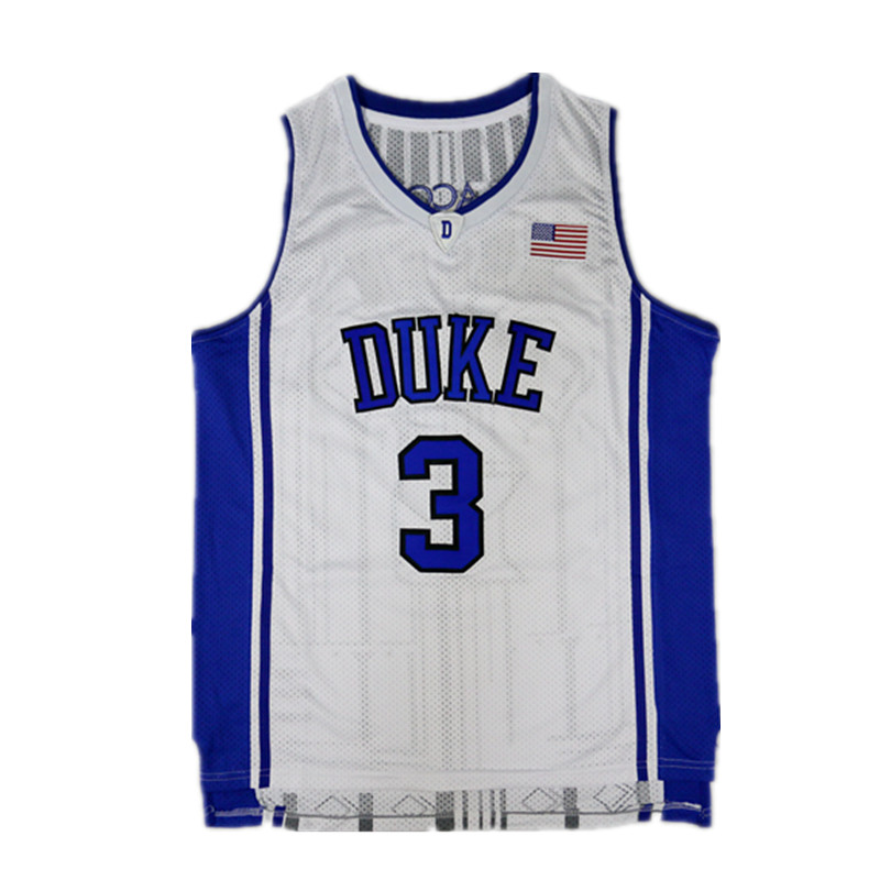 Uniforms Tracksuits Jersey-Set Throwback Basketball-Training Classical College Duke Blank