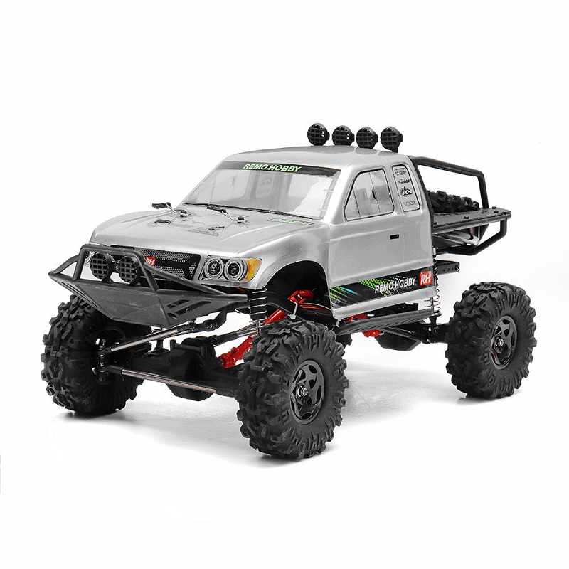 RCtown Remo Hobby 1093-ST 1/10 2,4G 4WD impermeable cepillado Rc coche todoterreno Rock Crawler Trail Rigs camión RTR juguete