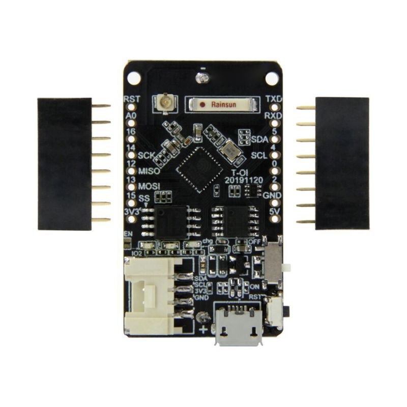 T-OI ESP8266 Chip Recharge 16340 <font><b>Battery</b></font> Holder for MINI D1 Development Board image