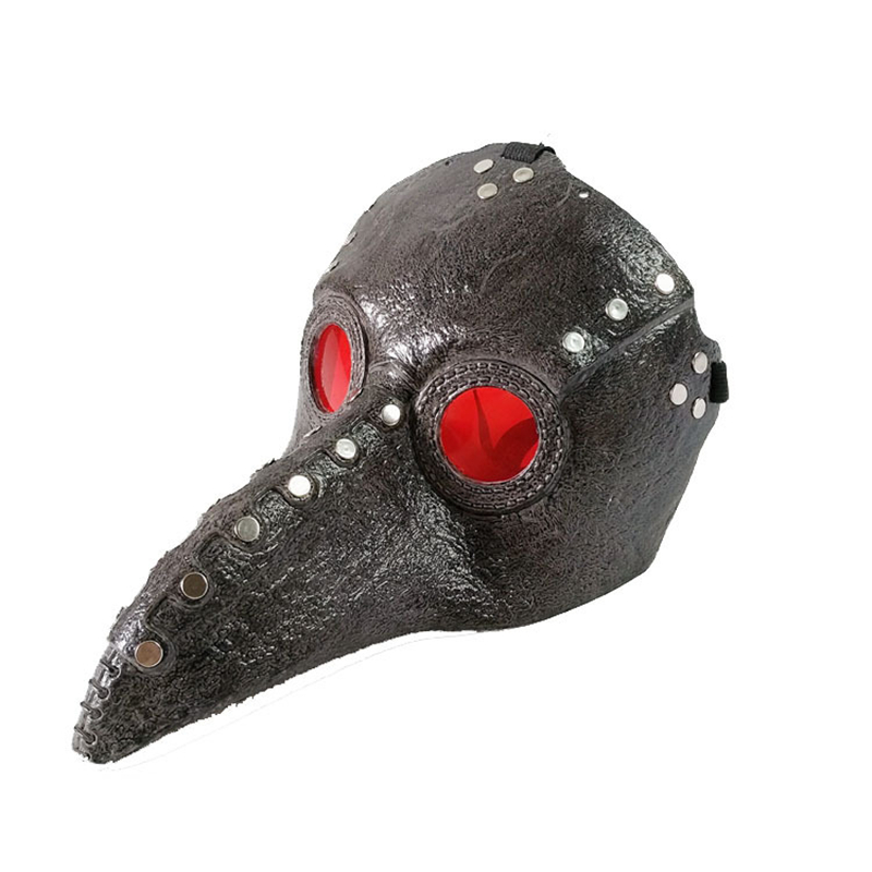 Dr. Plague Doctor Mask Cosplay Costume Schnabel Suit Halloween Costumes For Adult Carnival Party Props