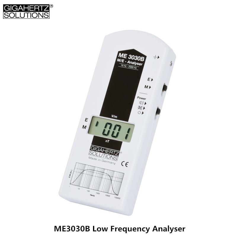 Genuine ME3030B Low Frequency Electromagnetic Radiation Detector High-precision Electromagnetic Radiation Monitoring Instrument