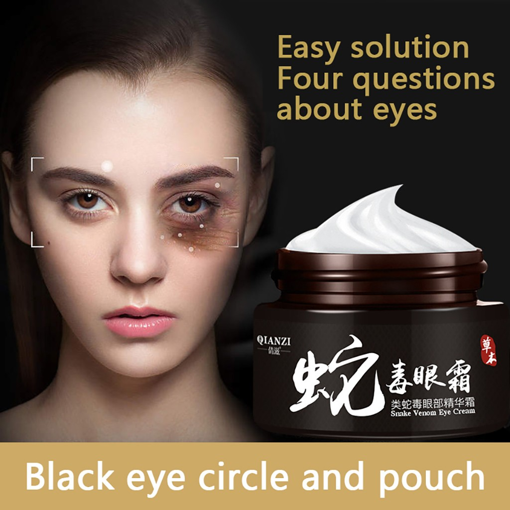Snake Eye Cream Essence Deep Moisturizing Care Tighten The Dark Circles Circle Anti-Aging Anti-Puffiness Moisturizing Firm