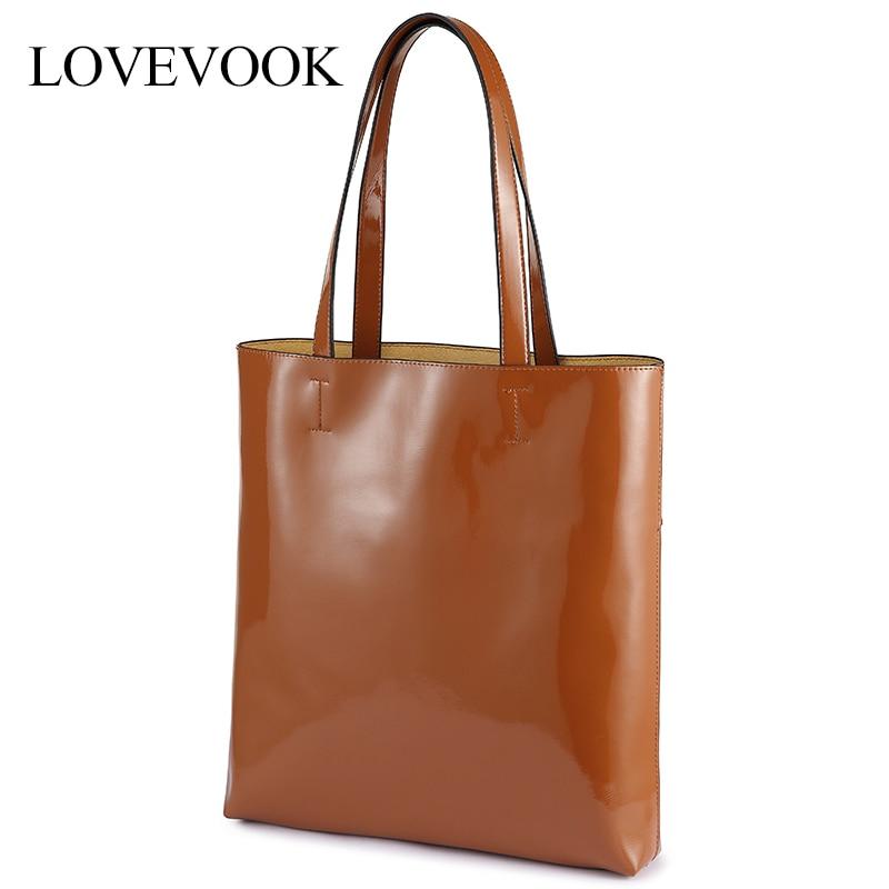 LOVEVOOK Shoulder Bags For Women High Quality Handbags Female Large Tote Bags Soft Waterproof Ladies Bags For School Travel 2019