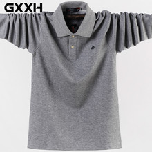 Polo-Shirts Clothing Oversized Blue Black Green Winter Big-Size Mens 95%Cotton Brand