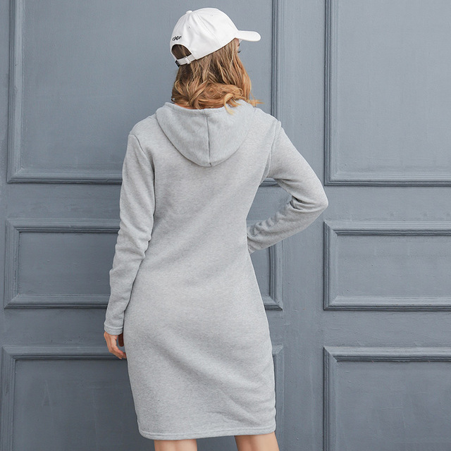 Women's Long Sleeve Dress With Equestrian Logo  5