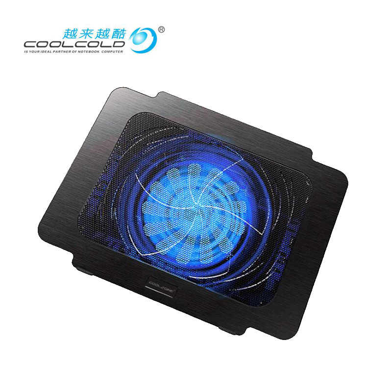 Portátil suporte para notebook cooler laptop com ventilador usb qualidade superior com suporte de luz led para laptop cooling pad para 11 12 13 14