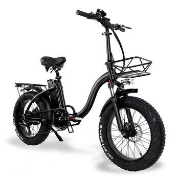 Folding Electric Bike 1000w ebike 48v 15ah Bicycle Electric Fat Tyre Foldable Bike for Man or Women 1