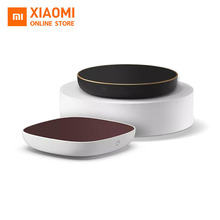 цена на New Xiaomi Mi Portable Heating Insulation Base Glass Teapot Water Cup Warmer Office Milk Coffee Heater Home Tea Stove Tea Set