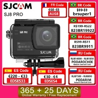 SJCAM-Cámara remota ultra HD para deportes extremos, dispositivo de grabación DV para casco de acción con chip Ambarella, 4K/60fps, modelo SJ8 Pro