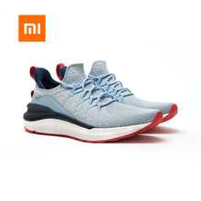 2020 Newest Xiaomi Mi Mijia Shoes 4 Men Running Sport Sneakers FREE FORCE Midsole Update Rubber Outsole Overall Machine Washable
