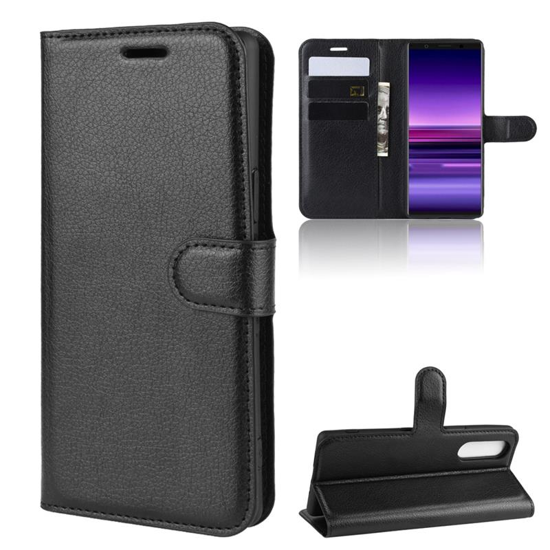 Buy For Sony Xperia 10 2 20 5 L3 L2 L1 XZS XZ XZ4 XZ1 XZ2 XZ3 X XA1 XA2 Z4 Z5 compact Plus Premium case Flip cover screen protector for only 2.99 USD