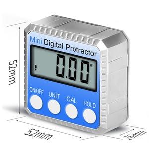 Image 4 - 360 학위 미니 디지털 경사계 베벨 상자 레벨 악기 전자 각도기 자기 각도 게이지 파인더 각도계