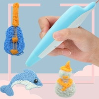 3D Printing Pen Low Temperature Built-In Lithium Battery Children's Stereo Doodle Charging 3D Pen Wireless Children's Gift