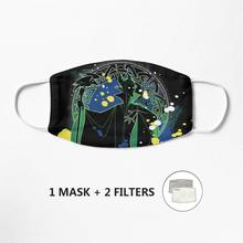 Máscara maleficent unissex reusável lavável máscara facial meia boca rosto engraçado proteger filtro