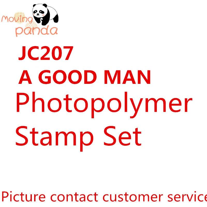 MovingPanda JC207 A Good Man Metal Cutting Dies And Stamps Dies For Craft Dies Scrapbooking Album Embossing