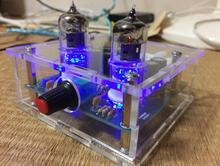 Diyキット6J1チューブプリアンプアンプボードプリアンプヘッドフォンアンプ6J1バルブプリアンプ胆汁バッファ