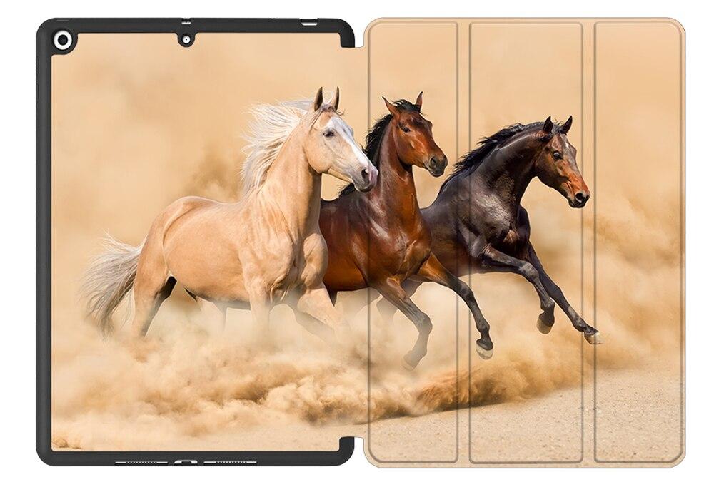 For iPad Back Flip 2020 10.2 Leather Tablet PU Case Smart TPU MTT 7th Generation 8th