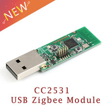 Draadloze Zigbee CC2531 Sniffer Blote Boord Packet Protocol Analyzer Module USB Interface Dongle Capture Packet Module(China)