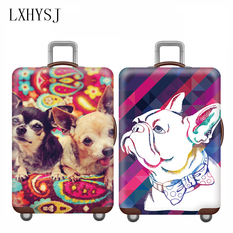 Unisex Elastic Luggage Protective Covers Suitcase Case For 18-32 Inch Trolley Suitcase Dust Cover Travel Accessories HW670