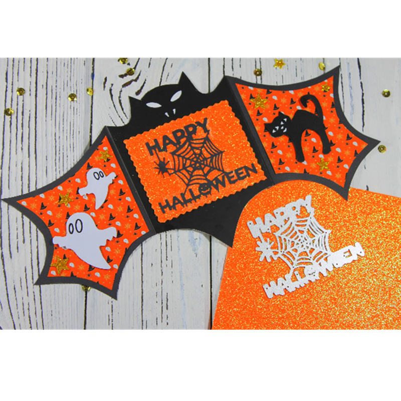 Kokorosa Happy Halloween Stansmessen Metalen Sterft Nieuwe 2019 Scrapbooking Album Card Maken Embossing Stencil Diecuts Decoratie