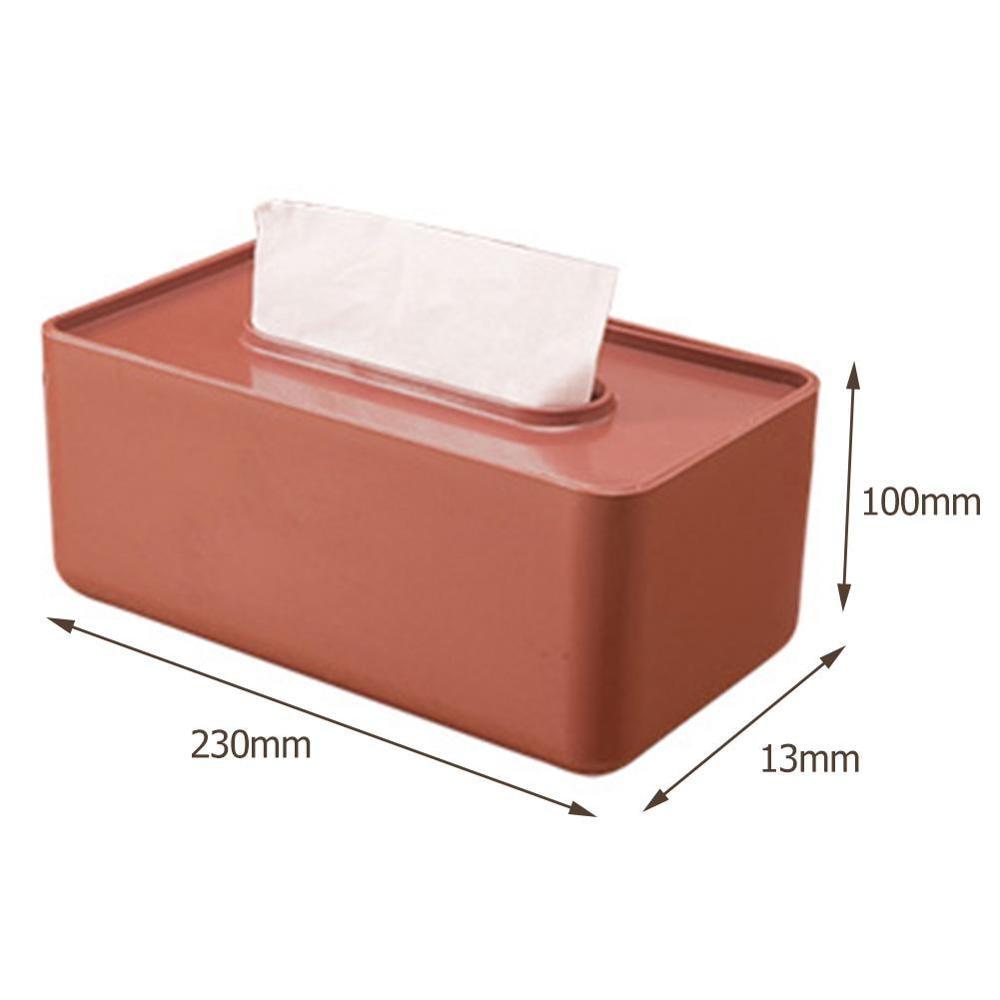 Многофункциональная Пластиковая Коробка для салфеток в скандинавском стиле, чехол для бумажных полотенец, органайзер для домашнего стола, товары для дома - Цвет: 1