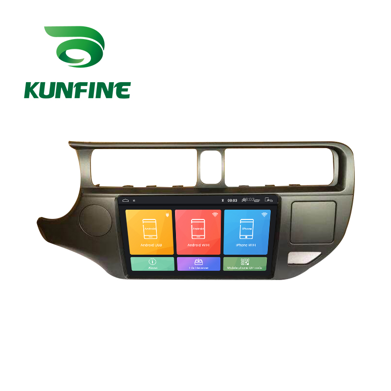 Octa Core Android 10,0 Auto DVD GPS Navigation-Player Deckless Auto Stereo Für <font><b>KIA</b></font> <font><b>RIO</b></font> 2012 2013 <font><b>2014</b></font> Radio Steuergerät image
