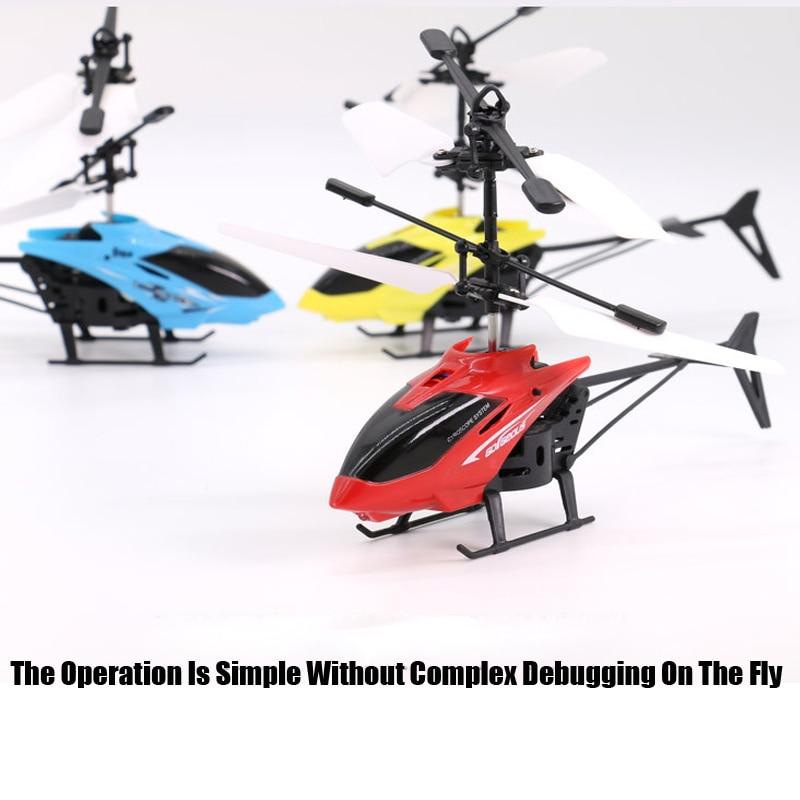 Mini RC Drone hélicoptère infrarouge Induction 2 canaux électronique drôle Suspension Dron avion quadrirotor petit drohne enfants jouets 5
