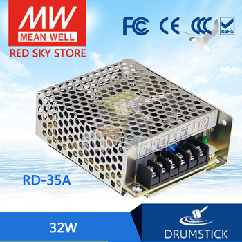 Ankang MEAN WELL RD-35A meanwell RD-35 32W Dual Output Switching Power Supply genuine mean well rid 125 1224 meanwell rid 125 133 2w dual output switching power supply