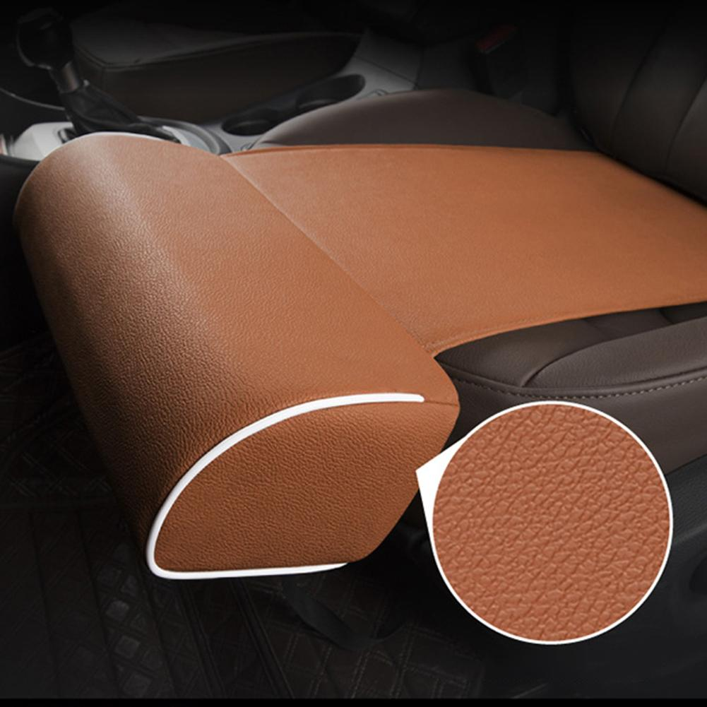 Universal Faux Leather Car Seat Leg Thigh Support Cushion Pillow Lengthen Pad