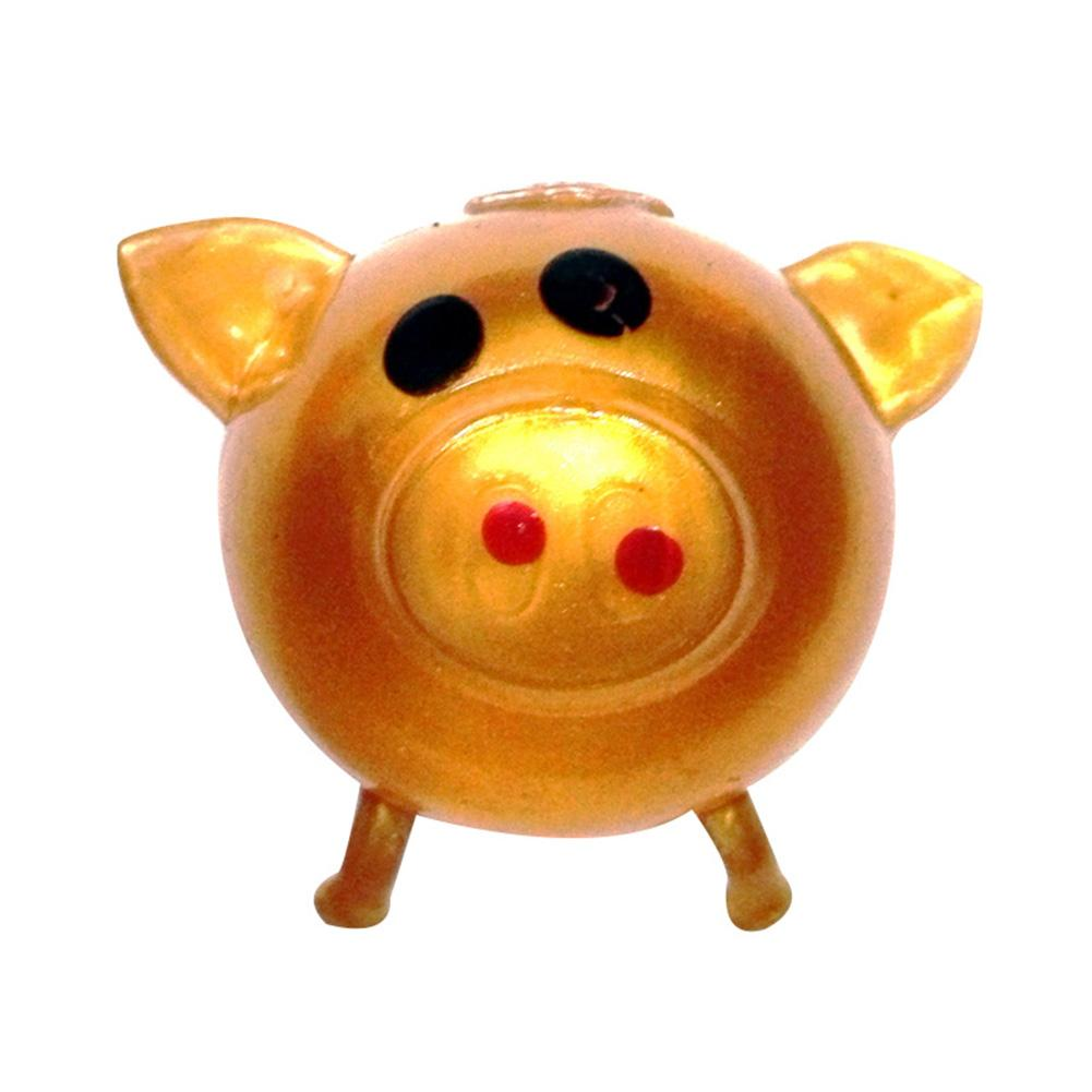 1Pc Jello Pig Cute Anti Stress Water Pig Ball Vent Toy Venting Sticky Pig Antistress Soft Stress Relief Funny Gift